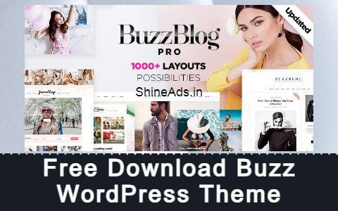 Free Download Buzz WordPress Theme