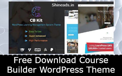 Free Download Course Builder WordPress Theme