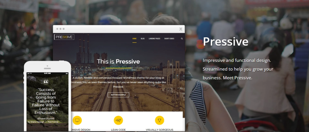 Free Download Thrive Themes Pressive WordPress Theme
