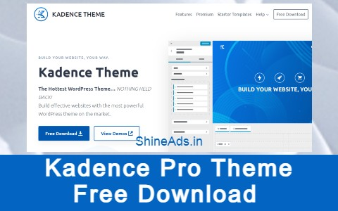 Kadence Pro Theme Free Download