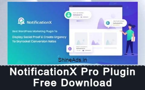 NotificationX Pro Plugin Free Download