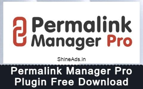 Permalink Manager Pro Plugin Free Download