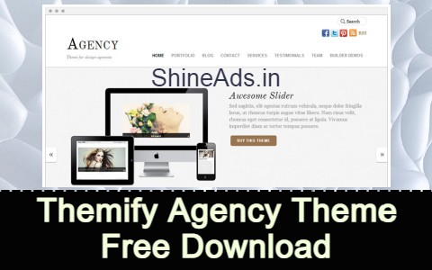 Themify Agency Theme Free Download