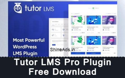 Tutor LMS Pro Plugin Free Download