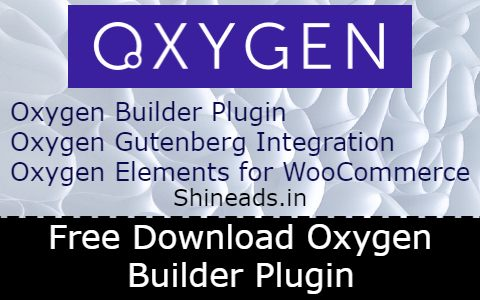 Free Download Oxygen Builder Plugin