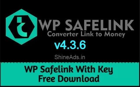 wp safelink with key free download