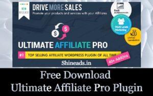 Free Download Ultimate Affiliate Pro Plugin