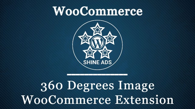 360 Degrees Image WooCommerce Extension