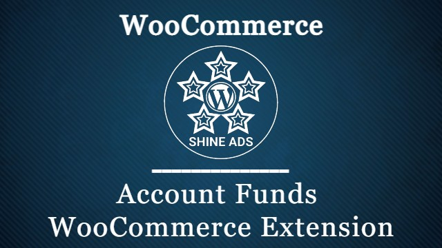 Account Funds WooCommerce Extension