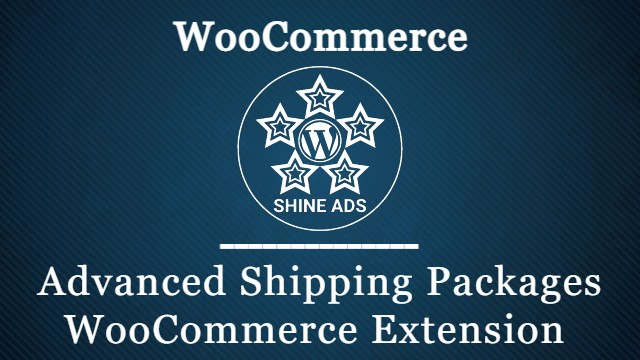Advanced Shipping Packages WooCommerce Extension
