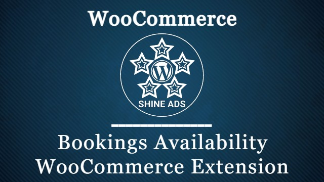 Bookings Availability WooCommerce Extension