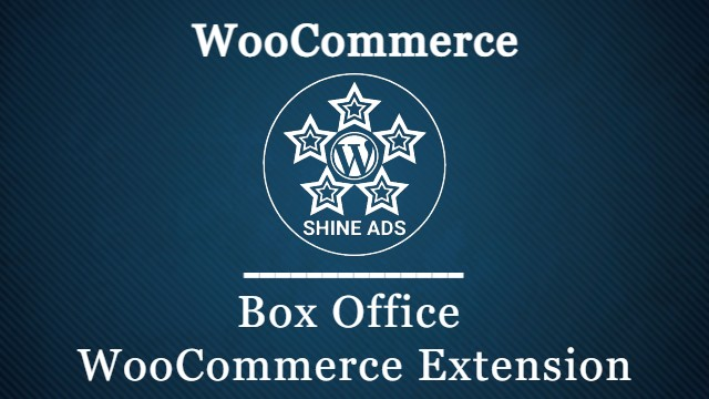 Box Office WooCommerce Extension