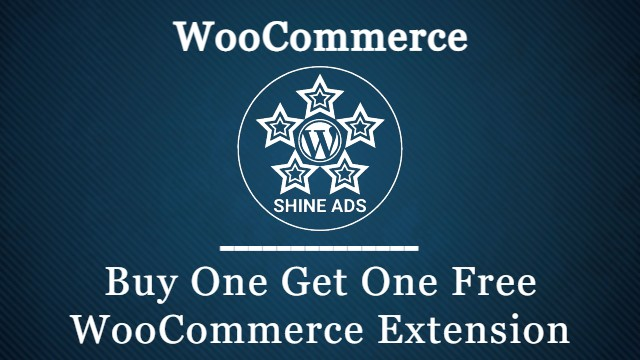 Buy One Get One Free WooCommerce Extension