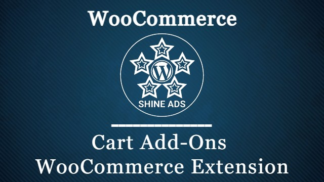 Cart Add-Ons WooCommerce Extension