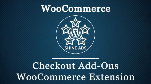 Checkout Add-Ons WooCommerce Extension