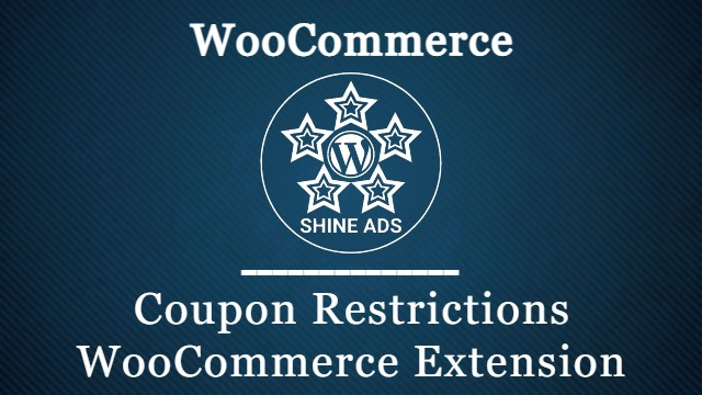 Coupon Restrictions WooCommerce Extension