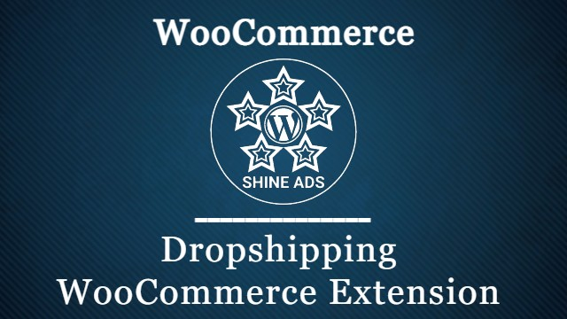 Dropshipping WooCommerce Extension