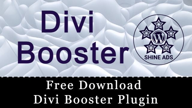 Free Download Divi Booster Plugin