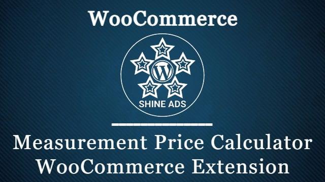 Measurement Price Calculator WooCommerce Extension