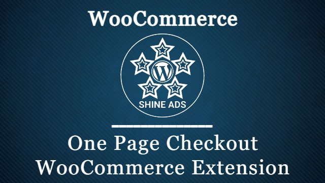 One Page Checkout WooCommerce Extension