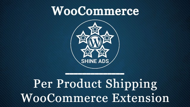 Per Product Shipping WooCommerce Extension