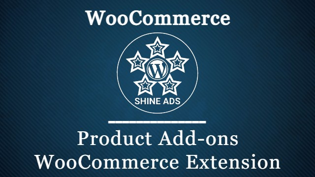 Product Add-ons WooCommerce Extension