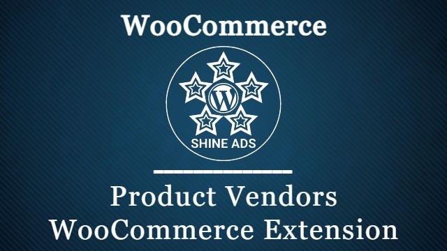 Product Vendors WooCommerce Extension