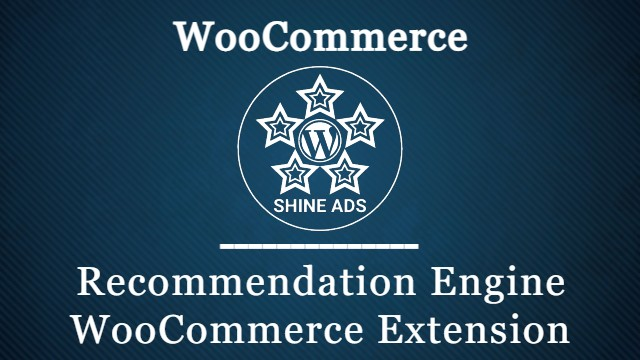 Recommendation Engine WooCommerce Extension