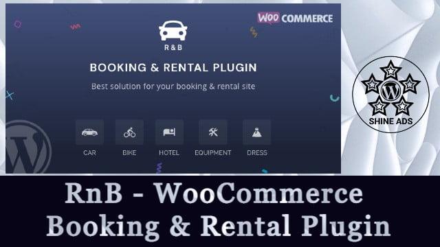 RnB - WooCommerce Booking & Rental Plugin