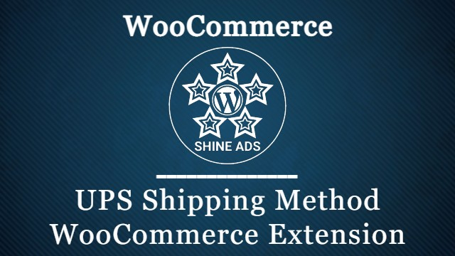 UPS Shipping Method WooCommerce Extension