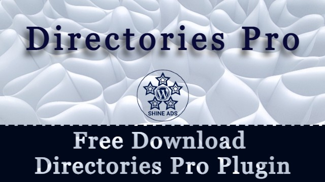 Free Download Directories Pro Plugin