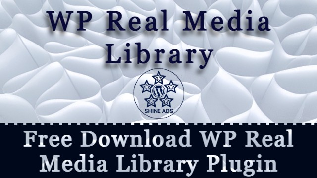 Free Download WP Real Media Library Plugin