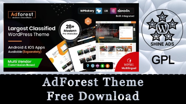 AdForest Theme Free Download