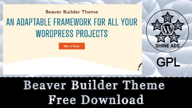 Beaver Builder Theme Free Download