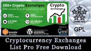 Cryptocurrency Exchanges List Pro Free Download