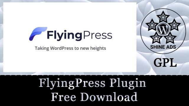 FlyingPress Plugin Free Download