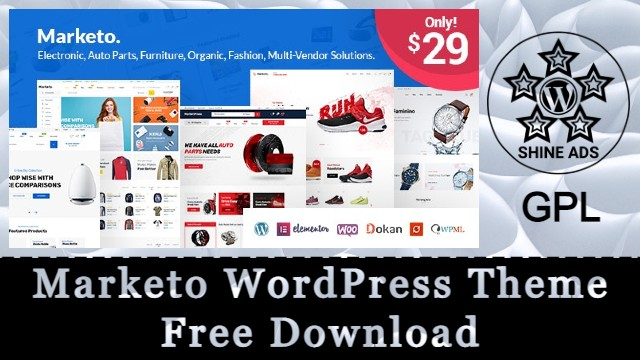 Marketo WordPress Theme Free Download
