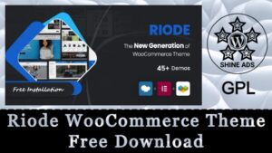 Riode WooCommerce Theme Free Download