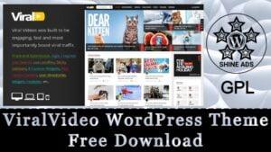 ViralVideo WordPress Theme Free Download