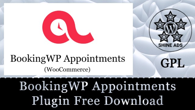 BookingWP Appointments Plugin Free Download