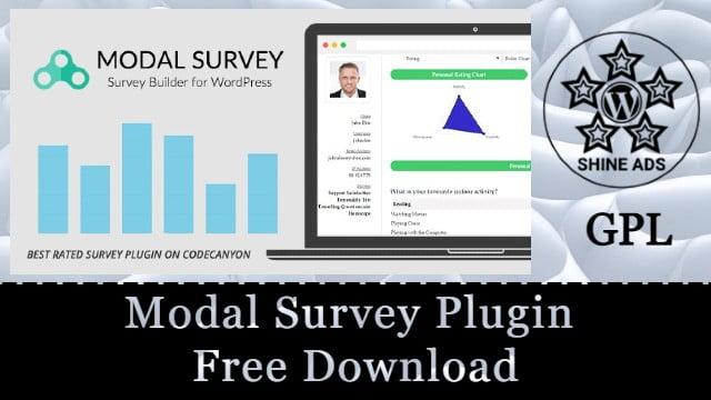 Modal Survey Plugin Free Download