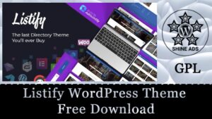 Listify WordPress Theme Free Download