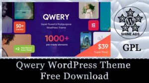 Qwery WordPress Theme Free Download