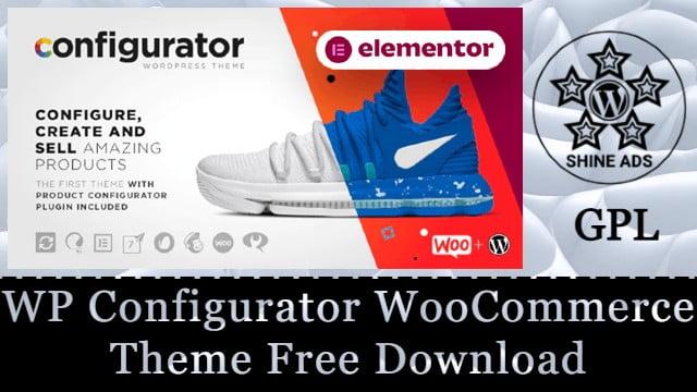 WP Configurator WooCommerce Theme Free Download