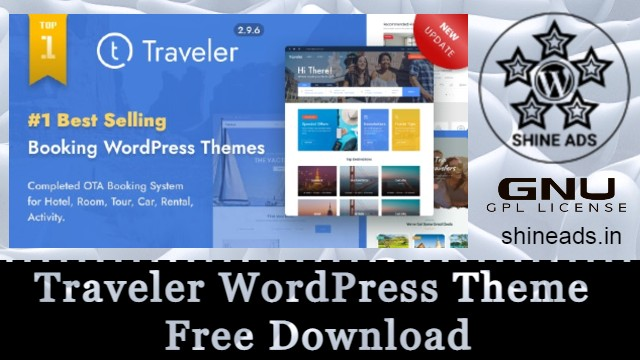 Traveler WordPress Theme Free Download