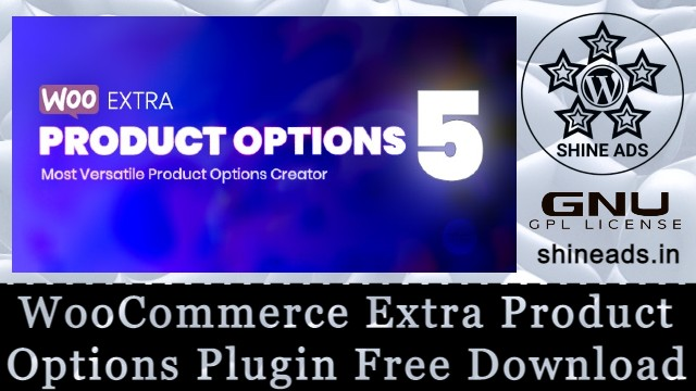 WooCommerce Extra Product Options Plugin Free Download
