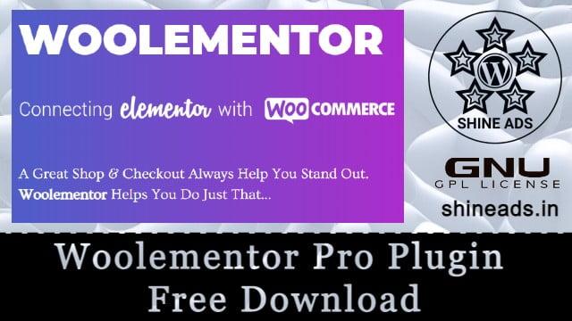 Woolementor Pro Plugin Free Download