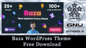 Baza WordPress Theme Free Download
