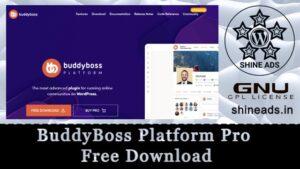 BuddyBoss Platform Pro Free Download
