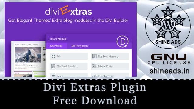 Divi Extras Plugin Free Download